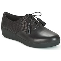 Sapatos Mulher Sapatos FitFlop CLASSIC TASSEL SUPEROXFORD Preto / Serpente