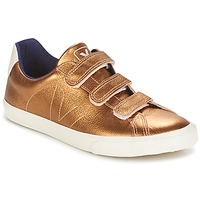 Sapatos Mulher Sapatilhas Veja 3 LOCK âmbar