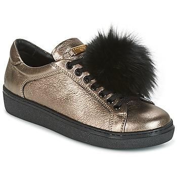 Sapatos Mulher Sapatilhas Tosca Blu CERVINIA POM PON Preto