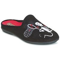 Sapatos Mulher Chinelos Rondinaud YONNE Preto