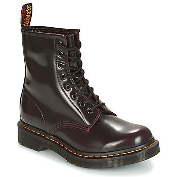 Sapatos Mulher Botas baixas Dr Martens 1460 Vermelho / Cereja
