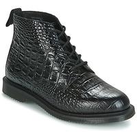 Sapatos Mulher Botas baixas Dr Martens EMMELINE Preto