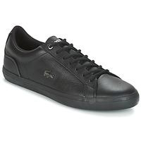 Sapatos Homem Sapatilhas Lacoste LEROND 4 Preto / Branco