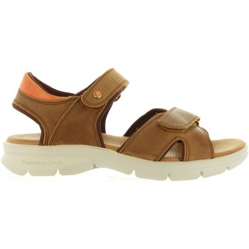 Sapatos Homem Sandálias Panama Jack SANDERS MINK C1 Marr?n