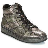 Sapatos Mulher Sapatilhas de cano-alto Tamaris NAPO Cinza