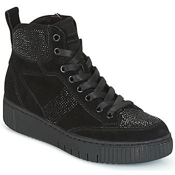 Sapatos Mulher Sapatilhas de cano-alto Tamaris NARU Preto