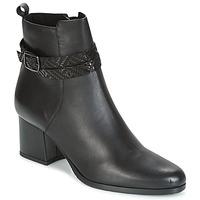 Sapatos Mulher Botins Tamaris BORISA Preto