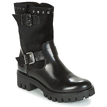 Sapatos Mulher Botas baixas Tamaris BITSY Preto