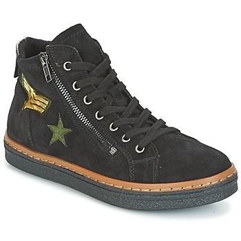Sapatos Mulher Sapatilhas de cano-alto Tamaris SHERONE Preto