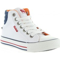 Sapatos Criança Sapatilhas Levi's VNEW0001T NEW YORK Blanco