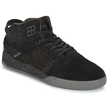 Sapatos Sapatilhas de cano-alto Supra SKYTOP III Preto / Cinza