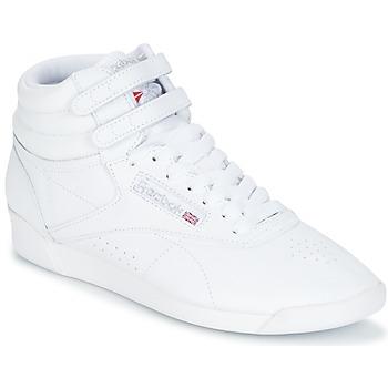 Sapatos Mulher Sapatilhas de cano-alto Reebok Classic F/S HI Branco / Prateado