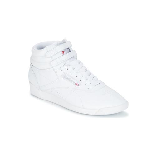 Sapatos Mulher Sapatilhas Reebok Classic F/S HI Branco / Prateado