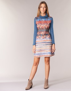 Textil Mulher Vestidos curtos Smash KRIVAN Multicolor