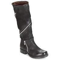 Sapatos Mulher Botas Airstep / A.S.98 SAINT EC ZIP Preto