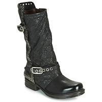 Sapatos Mulher Botas Airstep / A.S.98 SAINT EC BUCKLE Preto