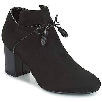 Sapatos Mulher Botas baixas Moony Mood GLAM Preto
