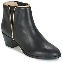 Sapatos Mulher Botins M. Moustache JEANNE.M Preto / Ouro