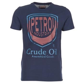 Textil Homem T-Shirt mangas curtas Petrol Industries TIRCO Marinho