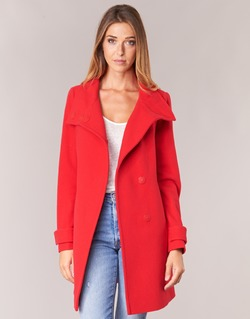 Textil Mulher Casacos Benetton MERCRA Vermelho