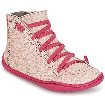 Sapatos Rapariga Sapatilhas de cano-alto Camper PEU CAMI Rosa