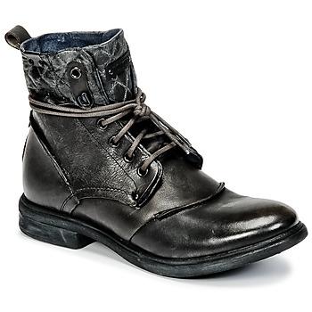 Sapatos Homem Botas baixas Bunker BONO Cinza
