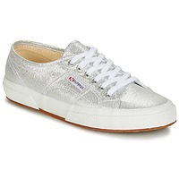 Sapatos Mulher Sapatilhas Superga 2750-LAMEW Prata
