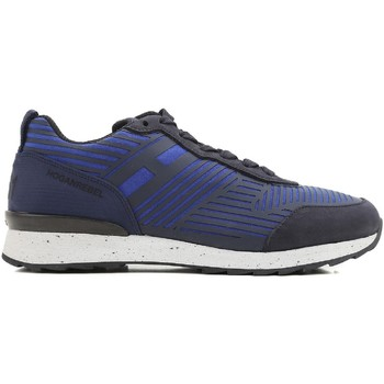 Sapatos Homem Sapatilhas Hogan HXM2610W500ESB0XKA blu acceso