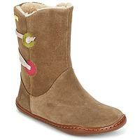 Sapatos Rapariga Botas baixas Camper TWS Castanho