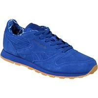 Sapatos Criança Sapatilhas Reebok Sport Classic Leather TDC Bleu
