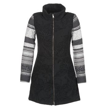 Textil Mulher Casacos Desigual GRAME Preto