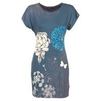Textil Mulher Vestidos curtos Desigual MARTI Azul