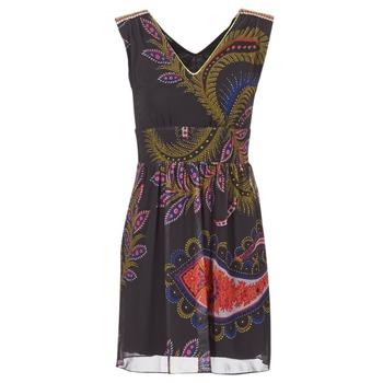 Textil Mulher Vestidos curtos Desigual GERCO Multicolor