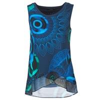 Textil Mulher Tops sem mangas Desigual TAMAC Azul