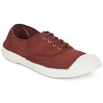 Sapatos Mulher Sapatilhas Bensimon TENNIS LACET Vinho