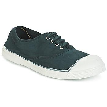 Sapatos Mulher Sapatilhas Bensimon TENNIS LACET Verde / Escuro