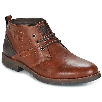 Sapatos Homem Botas baixas Tom Tailor LAORA Castanho