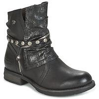 Sapatos Mulher Botas baixas Tom Tailor RESTOUNE Preto