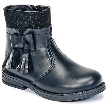 Sapatos Rapariga Botas baixas Citrouille et Compagnie HEYLI Preto
