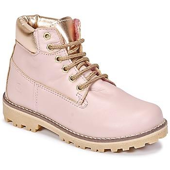 Sapatos Rapariga Botas baixas Citrouille et Compagnie HICHOU Rosa