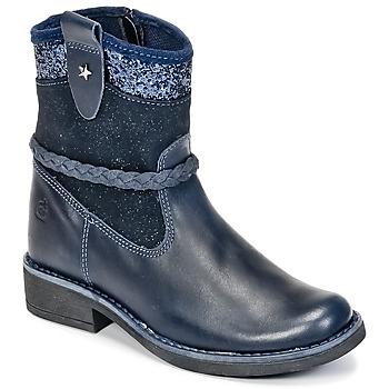 Sapatos Rapariga Botas baixas Citrouille et Compagnie HAYO Azul