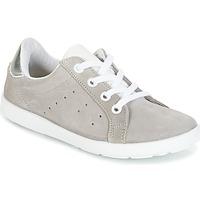 Sapatos Rapariga Sapatilhas Citrouille et Compagnie HINETTE Cinza / Prata
