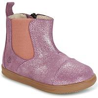 Sapatos Rapariga Botas baixas Citrouille et Compagnie HUETTE Rosa