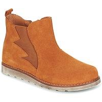 Sapatos Rapaz Botas baixas Citrouille et Compagnie HISSA Camel