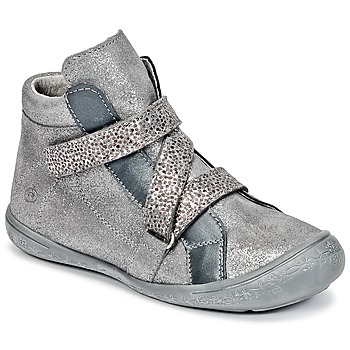 Sapatos Rapariga Sapatilhas de cano-alto Citrouille et Compagnie HISSOU Cinza