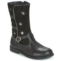 Sapatos Rapariga Botas Citrouille et Compagnie HANDRE Preto