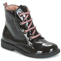 Sapatos Rapariga Botas baixas Citrouille et Compagnie HEMANU Preto / Rosa