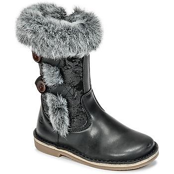 Sapatos Rapariga Botas Citrouille et Compagnie HOSY Preto
