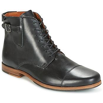 Sapatos Homem Botas baixas Schmoove BLIND BRITISH BROGUE Preto