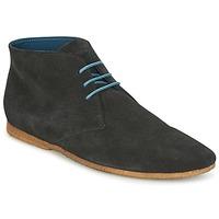 Sapatos Homem Botas baixas Schmoove CREPS DESERT Preto